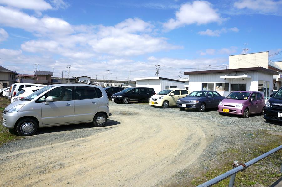 月極駐車場:砕石